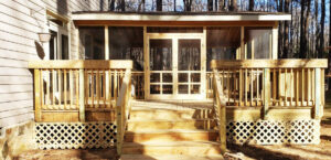 Entry to Screened Porch