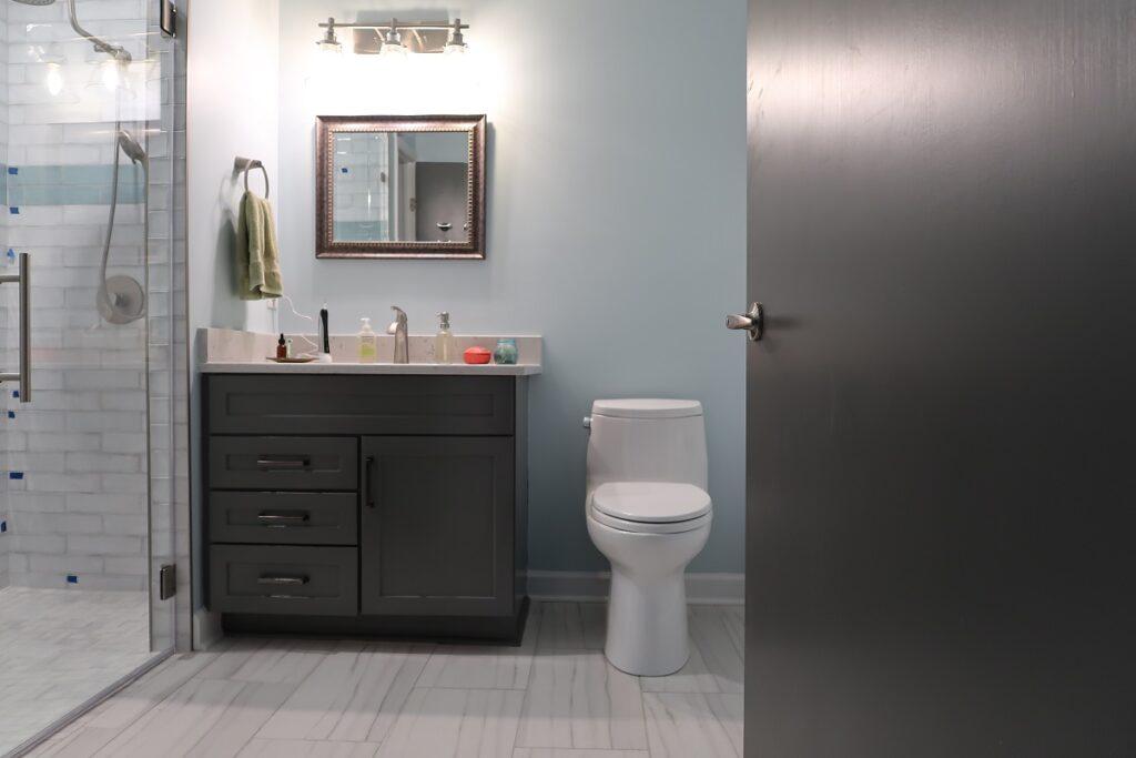 Durham bathroom remodel
