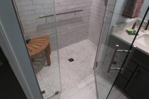 Tiled Shower Floor