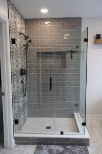 Enlarged Shower