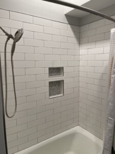 Large Subway Tile with Inset
