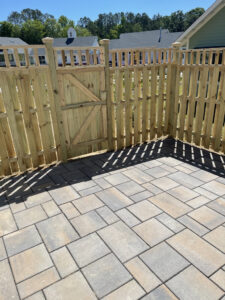 Accent Shadow on Paver Patio