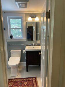 New Toilet and Vanity