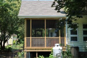 Screened Porch Side View